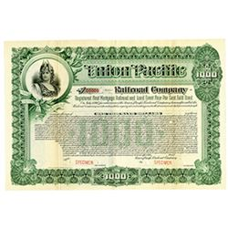 Union Pacific Railroad Co., ca.1900-1920 Specimen Bond
