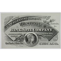 St. Louis Bank Note Company, ND (ca.1870-80's) Advertising Trade Card