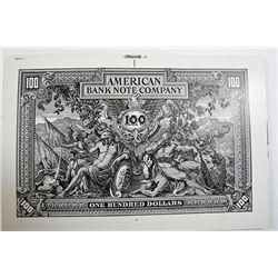 American Bank Note Co., 1910s-1920, Advertising/Test Banknote.