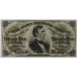 U.S. Fractional Currency, 3rd Issue Note.