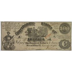 C.S.A., 1864, $2, $5 Banknote Pair.