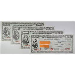 U.S. Savings Bond, Series E, 1973-1974 Bond Assortment.