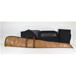 3 Electronics Bags and Soft Gun Case