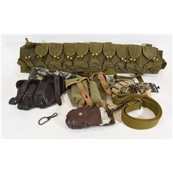Bandolier, Sling, Ammo Pouches