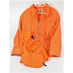 Blaze Orange Jacket and Vest