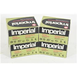 "80 Rounds Imperial 12 Ga x 2 3/4"" Lead #5 Shot"