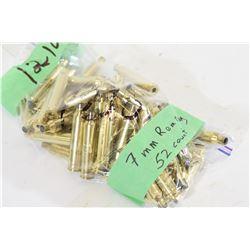 7mm Remmington Magnum Brass