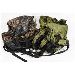 Two Back Packs