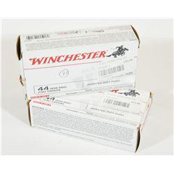 70 Rounds Winchester 44 Rem. Mag. 240 Gr. JSP