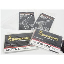 Four Browning Manuals
