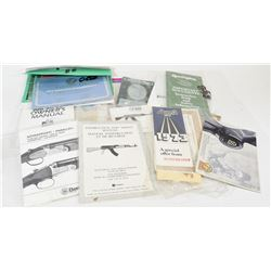 Variety of Rifle Manuals