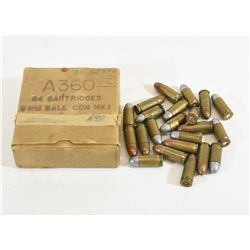 87 Rounds 9mm Luger Military Ammunition