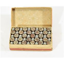 50 Rounds Winchester 32 RF in Vintage Box