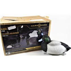 Hardcore Bluebill Duck Decoys New in Box