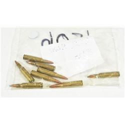 8 Rounds 222 Remington Factory Loaded