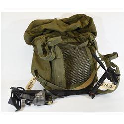 Camera Arm and Military Knapsack