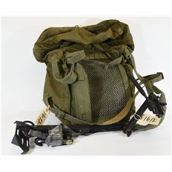 Camera Arm and Military Knapsack