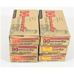 109 Rounds Hornady 204 Ruger 32grn