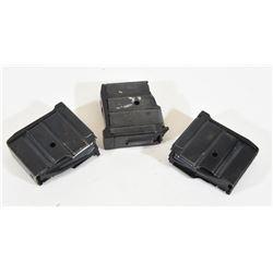 Three Ruger Mini 14 Magazines