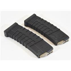 Two Plastic Tapco Mini 14 Magazines