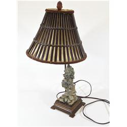 Ducks Unlimited Wolf Lamp