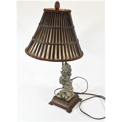 Ducks Unlimited Wolf Lamp