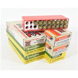 40 Rounds Rifle Ammunition and Brass