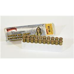 20 Rounds Winchester 44-40 Win Commemorative Ammo