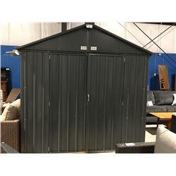 ARROW EZEE SHED 7' X 8' METAL GARDEN SHED - IN BOX