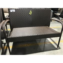 PATIOFLARE WOVEN PATIO BENCH 4'