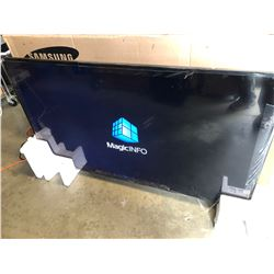 """SAMSUNG 65"""" PROFESSIONAL DISPLAY LED TV MODEL DM65E WITH REMOTE"""