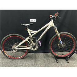 BROWN GIANT REIGN0 27 SPEED FULL SUSPENSION MOUNTAIN BIKE WITH FRONT AND REAR HYDRAULIC DISC