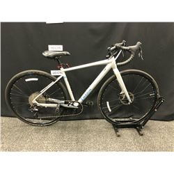 GREY MARIN GESTALT X10 10 SPEED ROAD BIKE WITH FRONT AND REAR DISC BRAKES, 50 CM FRAME SIZE