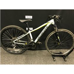 BLUE SPECIALIZED ROCKHOPPER 24 SPEED FRONT SUSPENSION MOUNTAIN BIKE WITH FRONT AND REAR HYDRAULIC