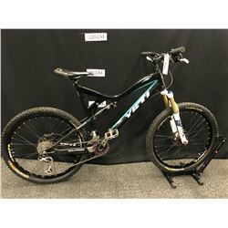 BLACK YETI ASR 5 9 SPEED FULL SUSPENSION MOUNTAIN BIKE WITH FRONT AND REAR HYDRAULIC DISC BRAKES, 3