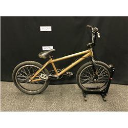 BROWN HARO BMX BIKE WITH GYRO, REAR BRAKE ONLY