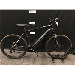 BLACK CANNONDALE CATALYST 21 SPEED ROAD BIKE WITH FRONT AND REAR DISC BRAKES, XL FRAME SIZE