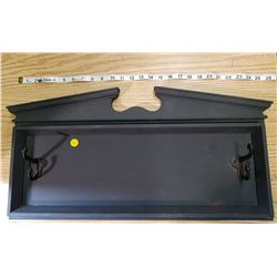 WALL HANGING COAT RACK WITH HOOKS