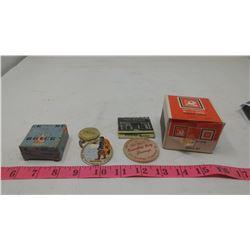 BUICK & VAUXHALL BOXES, FUR SALON MATCHES, ETC.