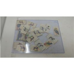 LOT OF CIGARETTE DECALS
