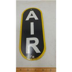 SERVICE STATION AIR PORCELAIN SIGN