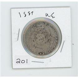 1887 USA ONE DOLLAR
