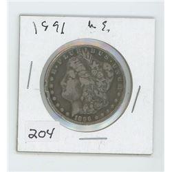 1896 USA ONE DOLLAR