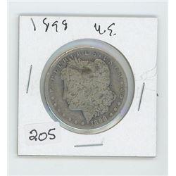 1898 USA ONE DOLLAR