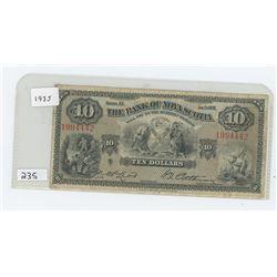 1935 THE BANK OF NOVA SCOTIA $10.00