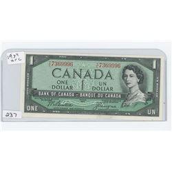 1954UNC CANADA $1.00