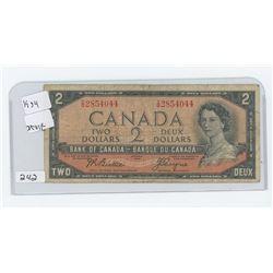 1954 CANADA $2.00
