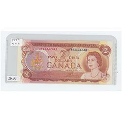 1974UNC CANADA $2.00