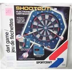 3-in-1 Sportcraft electronic dartboard