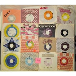 Lot of 42, 45 RPM records, various artists & labels